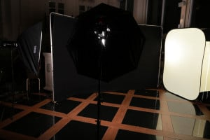 temporary pop up photo studio