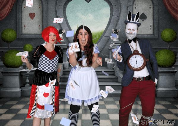 8 August Alice Wonderland New