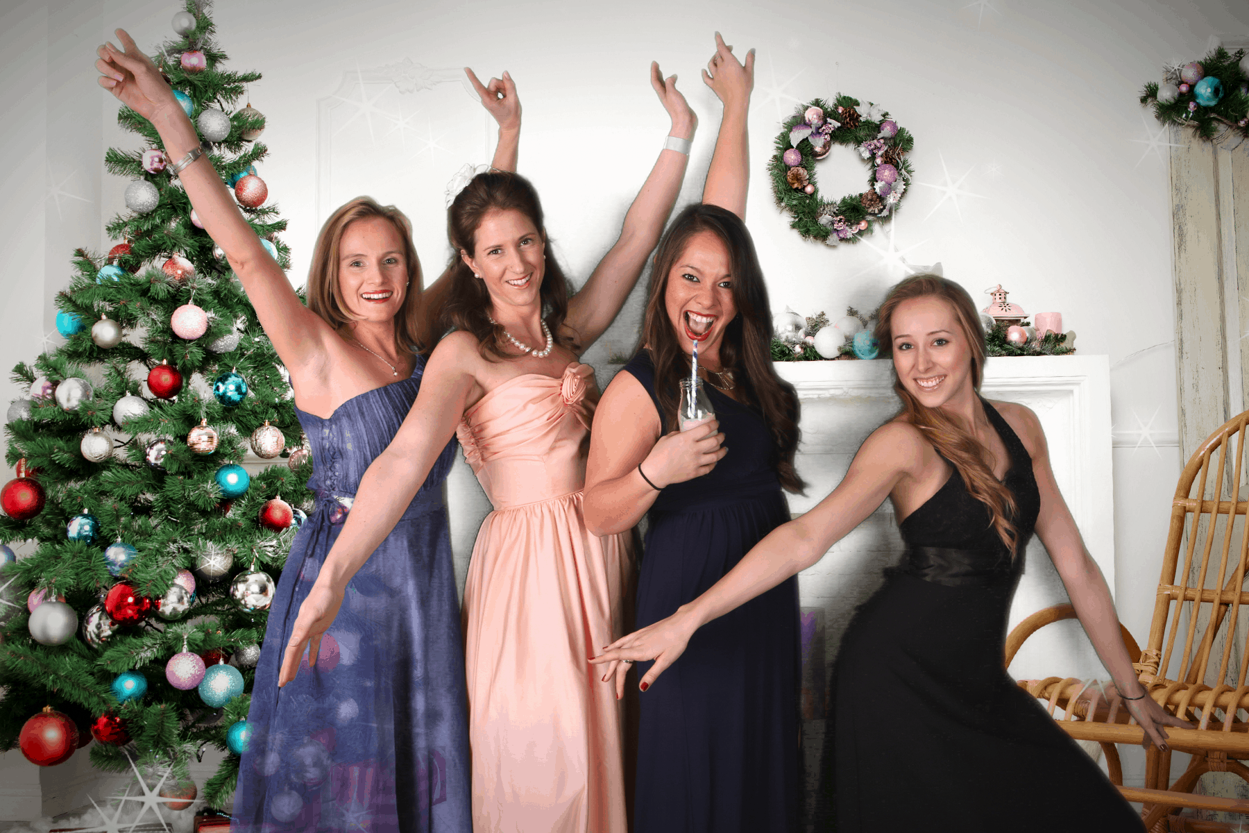 Formal Christmas Party Ideas Part - 21: Green Screen Christmas Party