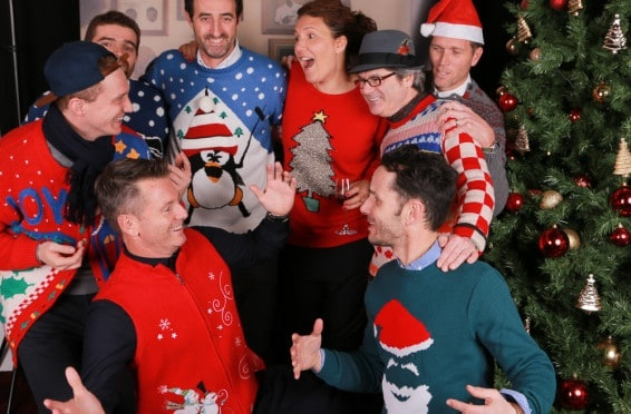christmas jumper party photography