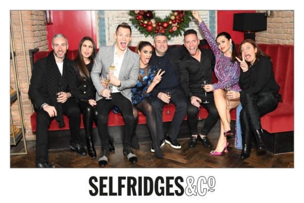 selfridges christmas party