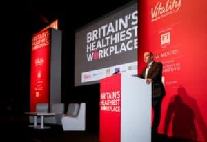 britains healthiest workplace speaker