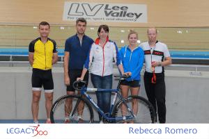 rebecca romero lea valley meet and greet