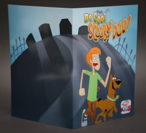Scooby Doo activation - branded photo wallet