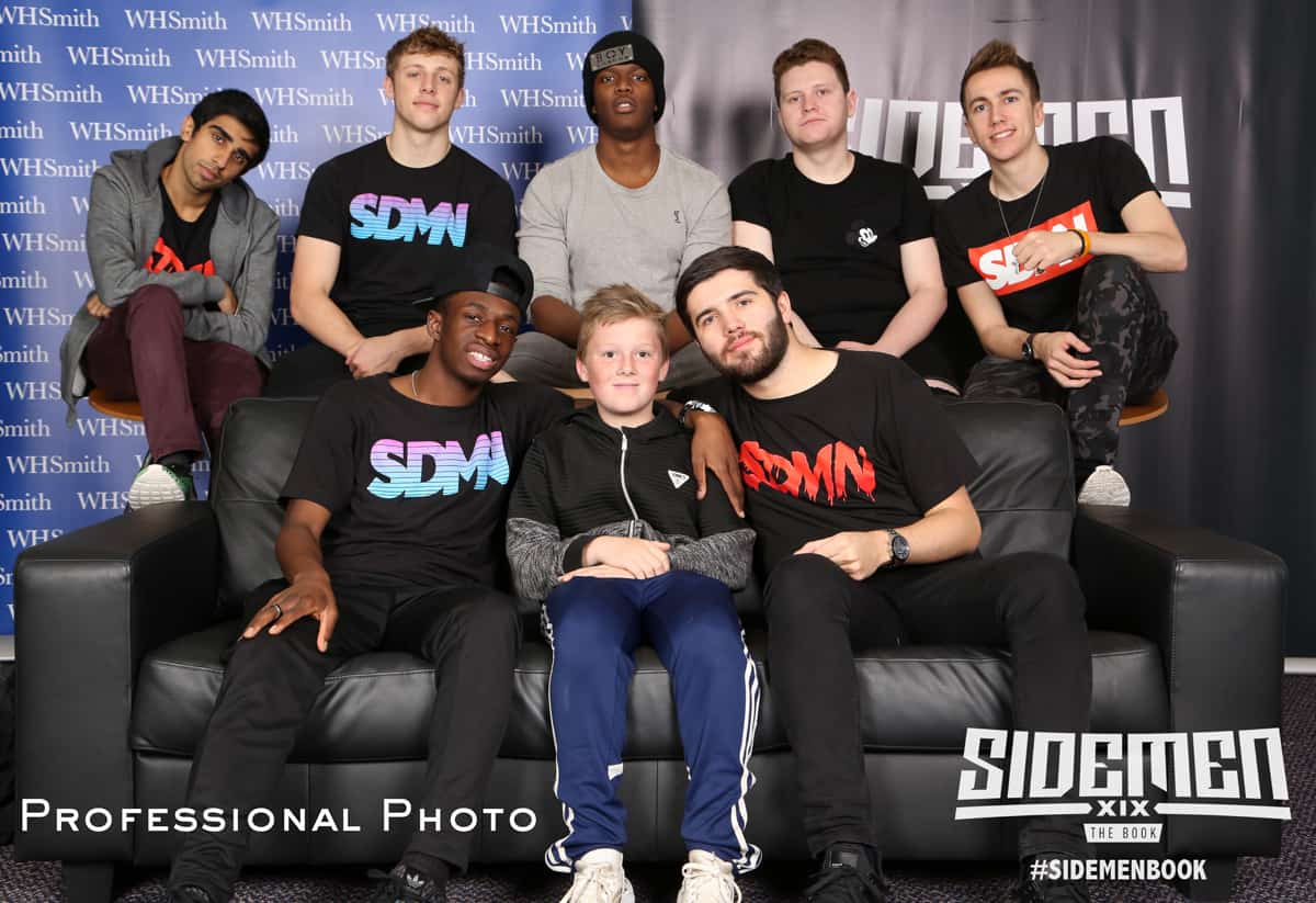 meet and greet professional photo